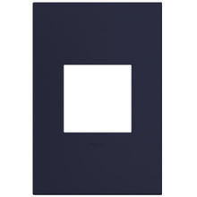 adorne® Bleu Noir One-Gang Screwless Wall Plate
