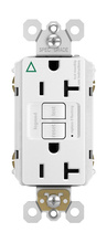Spec-Grade Isolated Ground Tamper-Resistant 20A Self-Test Duplex GFCI, White