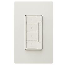 In-Wall RF Scene Controller, Light Almond