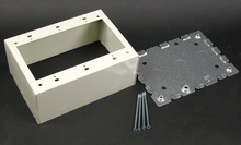 500/700 Three-Gang Extra Deep Switch and Receptacle Box Fitting