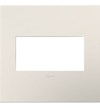 Satin Light Almond 2-Gang Wall Plate
