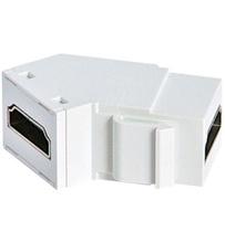 HDMI Keystone Coupler, White