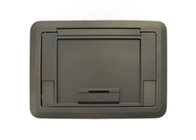 Evolution Series EF45 Floor Box Surface Style Cover with Floor Insert