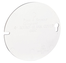 """Cover for 4"""""""" Round Ceiling Box"""