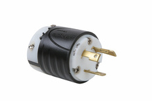 30 Amp NEMA L530 Plug - Black Back, White Front Body