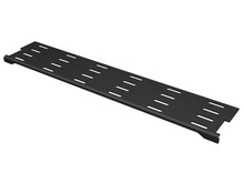 MM20 Zero-U Horizontal Manager - for front of rack between two VMD or VMS style m - anagers - Black