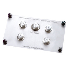 1X4 Enhanced Passive Video Splitter/Combiner