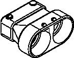 322-11/4, 322-11/2 Female Conduit Adapter