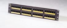 Category 5e high density telco panel - 48-port