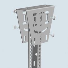 EDF ANGLE MOUNTING BRACKET-STAINLESS (4D,,4W,,6L)  [561064]