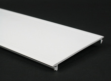Wiremold 5400 Series Full Width Raceway Cover, Ivory