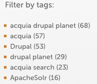 Search by tag