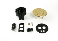 863DPCOM Series Dual Service Floor Box Kit