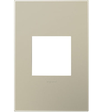 adorne® Titanium One-Gang Screwless Wall Plate