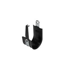 2'' Basic Black Plastic Coated J-Hook w/ Latch Box of 25 [F000673]