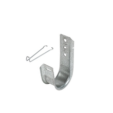 2'' JHook Wide base w/retainer clip - Box of 50 [F000637]