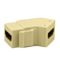 HDMI Keystone Insert/Coupler, Ivory