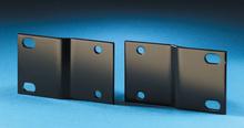 Rack Adapter Kit - 19 to 23 in - 1.75 in H - 1 rack unit - - black