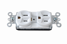 PlugTail® Spec Grade Receptacles, 20A, 125V, White