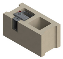Frame Only for Concrete Block Wall Assembly Box of 25 [FP271884]