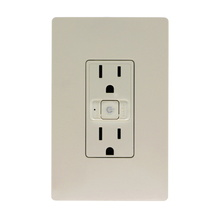 Smart Outlet - Wi-Fi in Light Almond