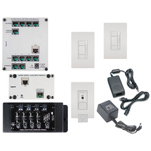 Digital Audio Two-Room, Multi-Source Kit, White