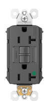 PlugTail® Hospital-Grade 20A Self-Test GFCI Receptacle, Black