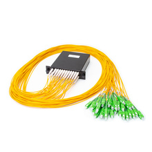 M2 DUAL 1X16 POL SPLITTER- SC/APC CONNECTORS- 2M PIGTAILS