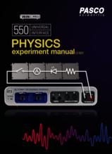 Universal 550 Physics Experiment Manual