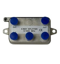 4-Way Vertical Coax Splitter (1 GHz)