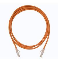 Clarity 5E Modular Patch Cord, 3', orange