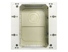 Exterior Mounting Box, Ivory