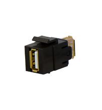 USB A/A Keystone Coupler Insert