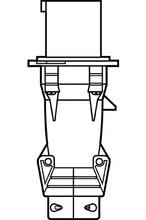 Pin & Sleeve International Splashproof Plug