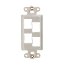 HDJ 4-Port Rectangular Stylistics Frame, Fog White