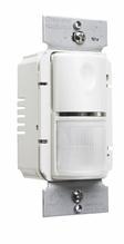 Commercial Passive Infrared (PIR) Wall Switch Sensor, Light Almond