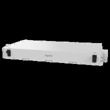 M7 UHD Fiber Enclosure Rack Mount, 1RU, Concise - White
