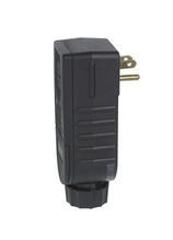 Portable GFCI Right Angle Plug, Automatic