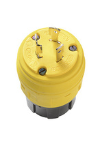 20A, 125V Turnlok® Ground Continuity Monitoring (GCM) Plug