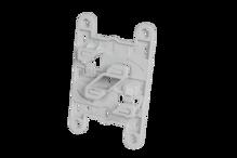 UNIVERSAL CAMERA/BOX Mounting Plate -GRAY PLASTIC(10 PCS) [945249]