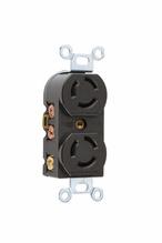 Non-NEMA 3 Wire Duplex Receptacle