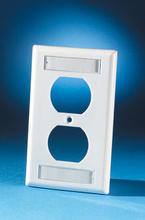 106-Type Plastic Single Gang Cover Plate,