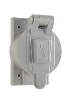 Flip Lid Weatherproof Cover for 50A Turnlok®, Gray