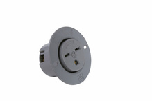 Flanged Outlet, Gray