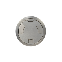 8IN SURFACE STYLE CVR ASSEMBLY SN SATIN NICKEL