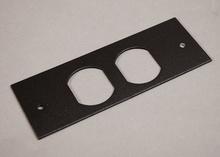 Wiremold OFR Series Overfloor Raceway Duplex Device Plate