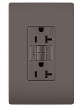 PlugTail® Spec-Grade 20A Self-Test Duplex GFCI, Brown