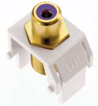 adorne® Subwoofer RCA to F-Connector