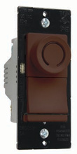 Deco Rotary CFL/LED Dimmer, Brown
