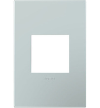 adorne® Pale Blue One-Gang Screwless Wall Plate
